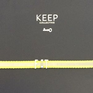KEEP Collective Jewelry - KEEP Collective Bracelet with letters FIT